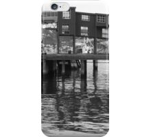 Wellington Harbour reflections iPhone Case/Skin