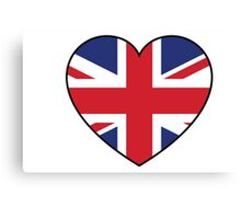 British at Heart....ROUND 2 Canvas Print