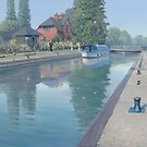 Sonning Lock by Richard Picton