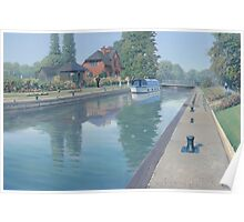 Sonning Lock Poster