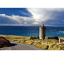 Doolin Irish Castle, County Clare, Ireland Photographic Print