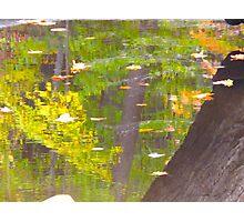 Coloured pools of joy Photographic Print