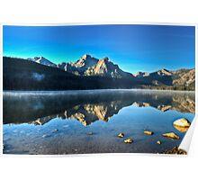 Sunrise at Stanley Lake Poster