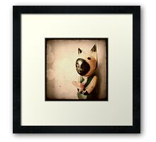 A heart for you Framed Print
