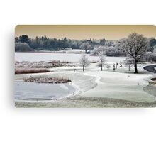 Dromoland Castle Hotel, Winter, County Clare, Ireland Canvas Print