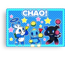 Star Chao! Canvas Print