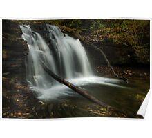 Wyandot Falls (in Autumn) Poster