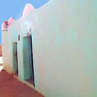 Beautiful Algeria - Love those Turquoise Buildings by ShadowDancer
