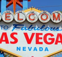 Welcome to Fabulous Las Vegas, Nevada! Sticker