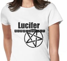 Lucifer Womens Fitted T-Shirt