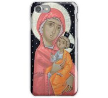 Virgin Mary and the Child Jesus iPhone Case/Skin