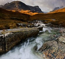 Scotland: Autumn in Glencoe by Angie Latham
