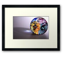Patterns in Glass Framed Print
