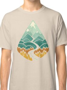 The Road Goes Ever On: Autumn Classic T-Shirt