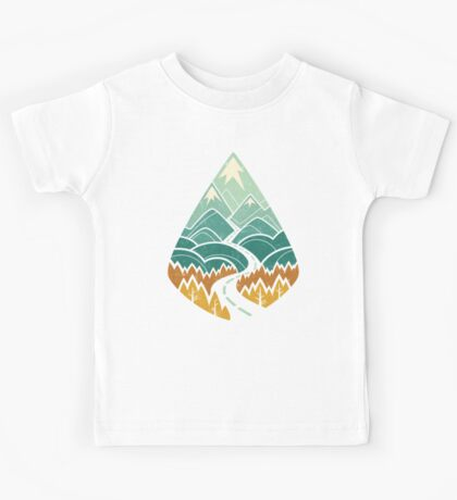 The Road Goes Ever On: Autumn Kids Tee
