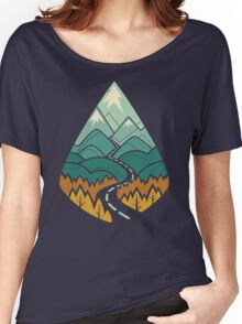 The Road Goes Ever On: Autumn Women's Relaxed Fit T-Shirt