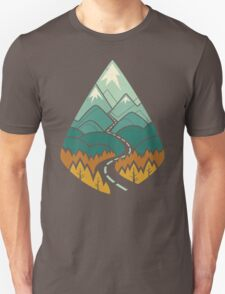 The Road Goes Ever On: Autumn T-Shirt