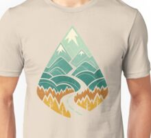 The Road Goes Ever On: Autumn Unisex T-Shirt