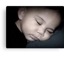 Sleeping Babe Canvas Print