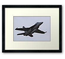 F/A-18 Super Hornet Framed Print