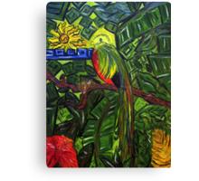 El Quetzal Canvas Print