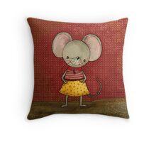 Mouse Danooshka Throw Pillow