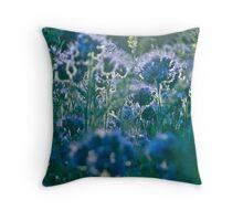 Fairy - tale  blue & blue  flax.  by Brown Sugar, Views (818)  . Dziękuję !!!! tvm..cu18r ! Throw Pillow