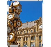 Time for All iPad Case/Skin