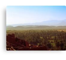 Beautiful Algeria - Warmth Radiated Across the Oasis Canvas Print