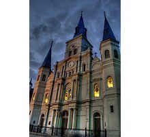 Cathedral-Basilica of St. Louis King of France Photographic Print