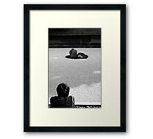 Zen Contemplation Framed Print