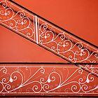 Orange Wall - Version 2 by EveW