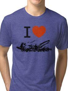 Dinosaur love Tri-blend T-Shirt