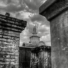 St. Louis Cemetery No.1 Series- 4 by Abara  Ijiomah