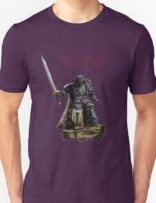 Angel of Darkness - Quote & Full Colour Unisex T-Shirt