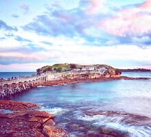 Bare Island Sunset by BronwynBell