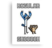 Regular Shooooh Canvas Print