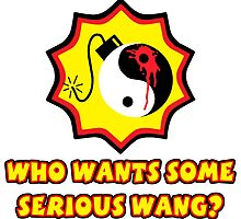 Serious Wang by VerriganHolmes