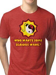 Serious Wang Tri-blend T-Shirt