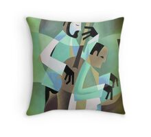 NHOP WITH KENNY DREW, COPENHAGEN Throw Pillow