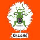 Noisy Little Terror - Grraagh! by one-in-the-eye