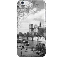 Quai de Montebello de la Tournelle iPhone Case/Skin