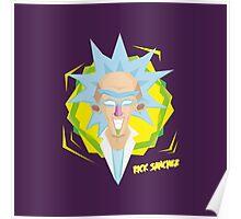Rick Sanchez burp motherf+ckers Fanart Poster