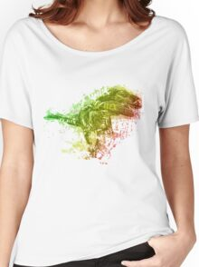 T-rex typography Women's Relaxed Fit T-Shirt