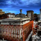 St. Louis Cemetery No.1 Series- 8 by Abara  Ijiomah