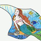 Journey Under the Sea - Hands Across the Water Collaboration by Leslie Gustafson