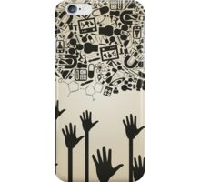 Hand a science iPhone Case/Skin