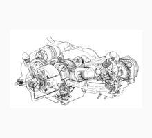 Honda C90 engine. Kids Clothes
