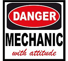 danger mechanic with attitude by creativecm