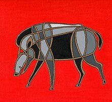 Year of the Boar by fesseldreg